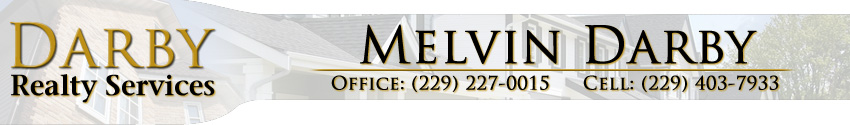 Darby Realty Services - Melvin Darby - Thomasville GA Real Estate